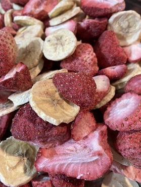 Freeze Dried Strawberry Banana Blend